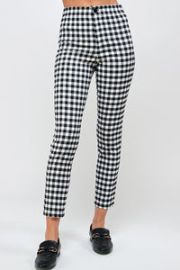 Jenner Plaid Pant