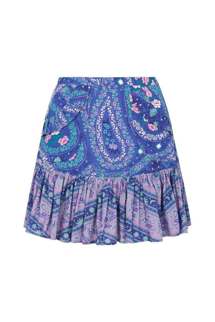 Spell City Lights Mini Skirt