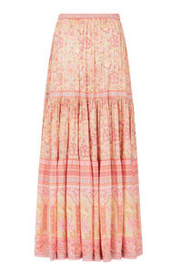Spell Poinciana Maxi Skirt - Cotton Candy