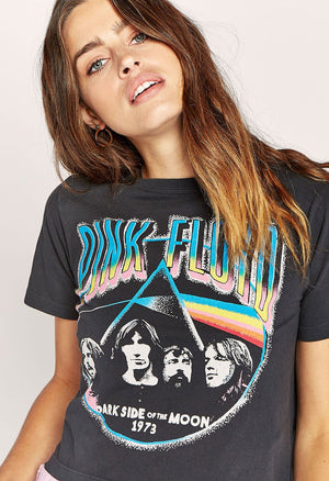 Pink Floyd Dark Side 1973 Rebel Crop Tee