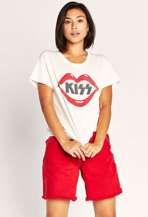 Kiss Lips Tour Tee