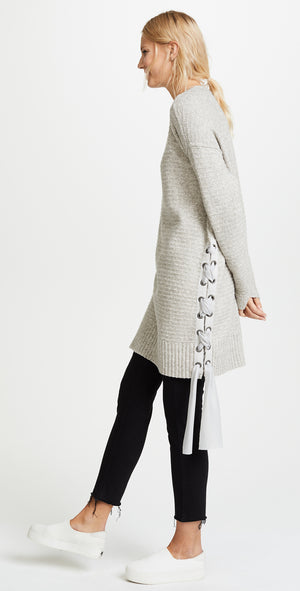 Free People Heart It Laces Sweater