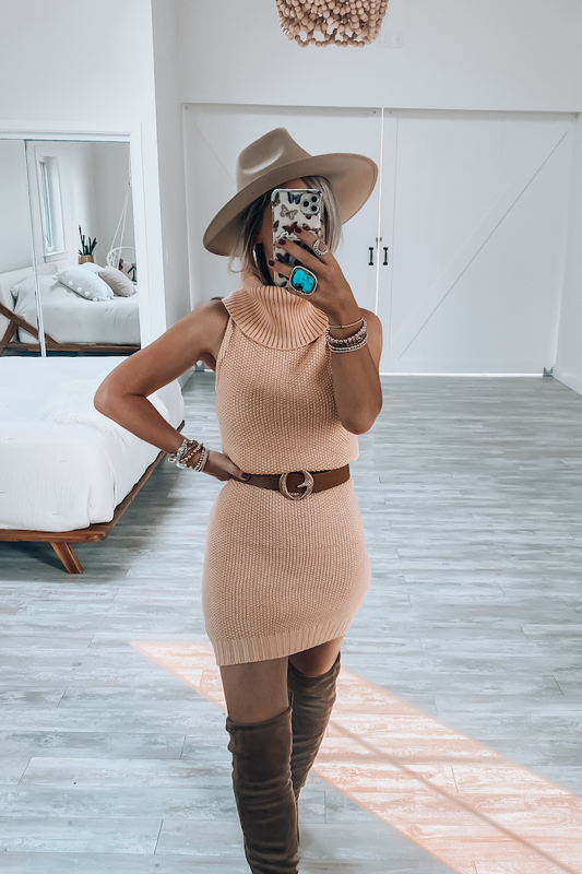 Aubrey Sweater Dress