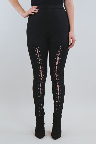 Risa Lace Up Leggings