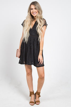 Chloe Cocktail Dress Black