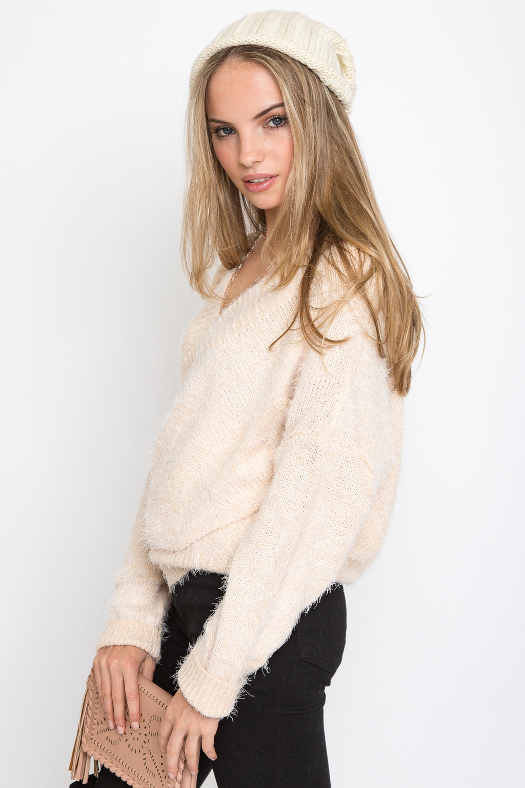 Felicia Fuzzy Sweater