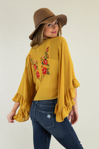 Honey Wrap Top