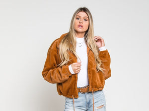 Selena Faux Fur Jacket