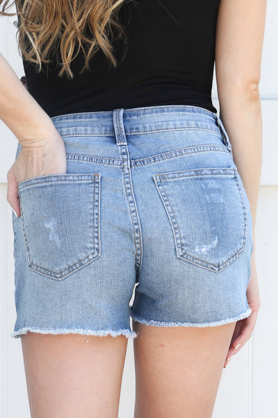 Willow Side Slit Shorts