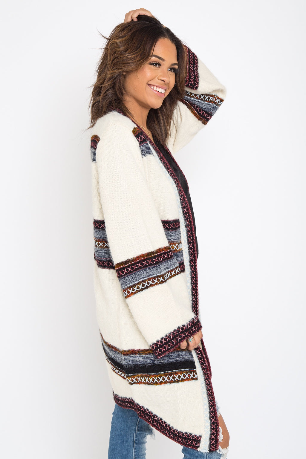 Faith Fuzzy Cardigan