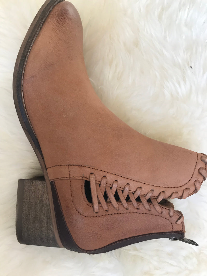 Cora Lace Up Bootie