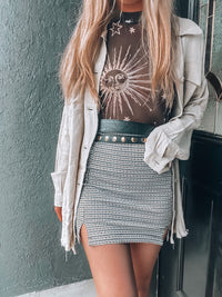 Beverly Plaid Skirt