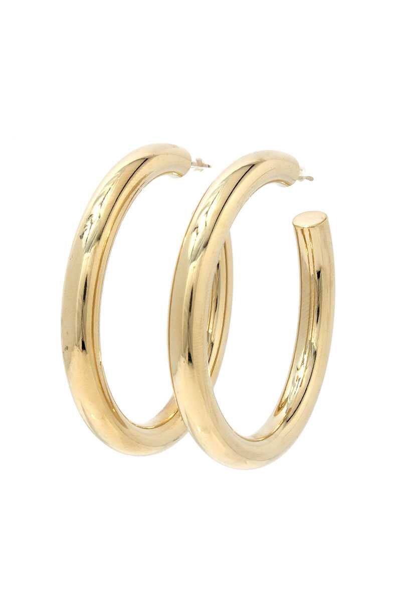 Lani Earrings Gold 2""
