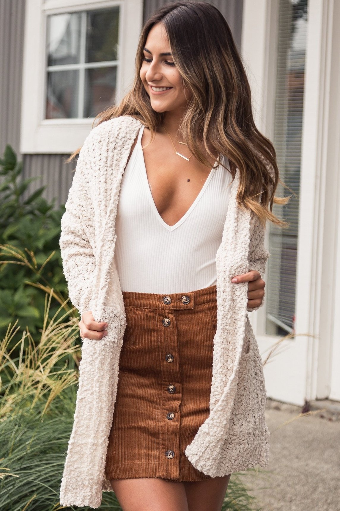 Ariana Cardigan Cream