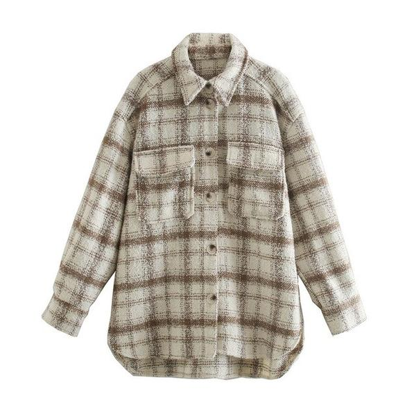 Winona Plaid Jacket