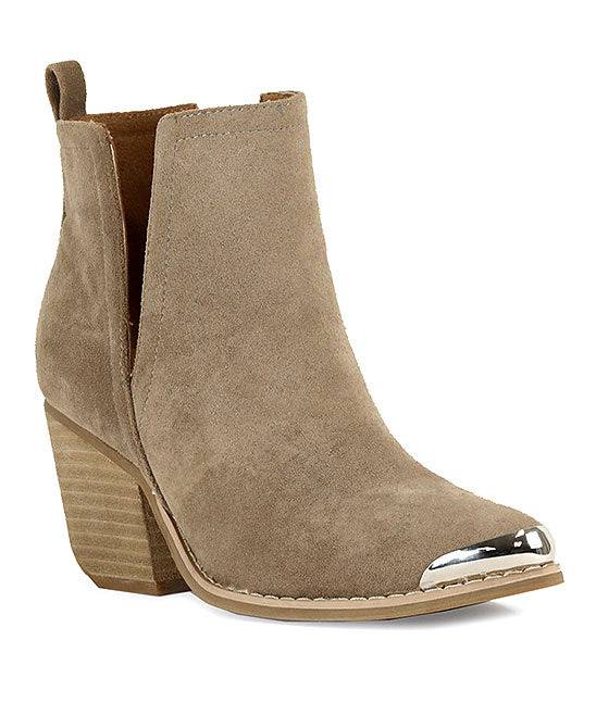 Clone Ankle Bootie Taupe