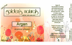Argan Oil, Carrier Oil, Golden's Naturals - Golden's Naturals = quality essential oils at affordable prices