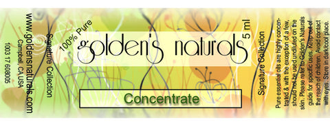 Concentrate Essential Oil Blend, Essential Oils, Golden's Naturals - Golden's Naturals = quality essential oils at affordable prices