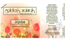 Jojoba Oil, Carrier Oil, Golden's Naturals - Golden's Naturals = quality essential oils at affordable prices