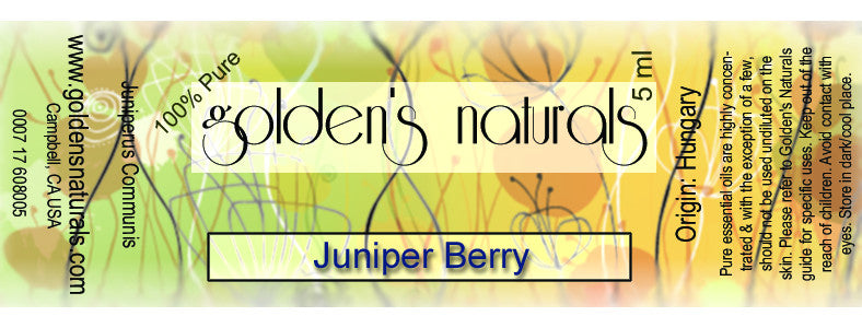 Juniper Berry Essential Oil, Essential Oils, Golden's Naturals - Golden's Naturals = quality essential oils at affordable prices