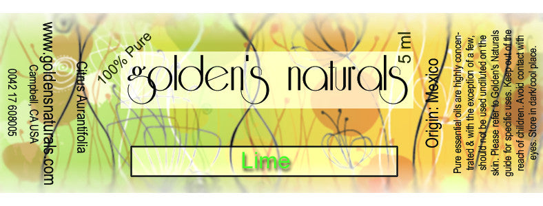 Lime Essential Oil, Essential Oils, Golden's Naturals - Golden's Naturals = quality essential oils at affordable prices