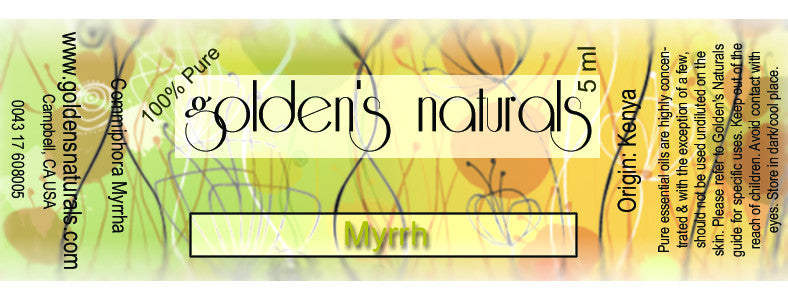 Myrrh Essential Oil, Essential Oils, Golden's Naturals - Golden's Naturals = quality essential oils at affordable prices