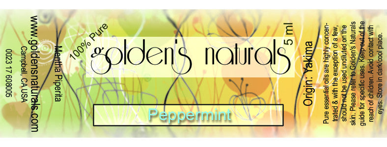 Peppermint Essential Oil, Essential Oils, Golden's Naturals - Golden's Naturals = quality essential oils at affordable prices