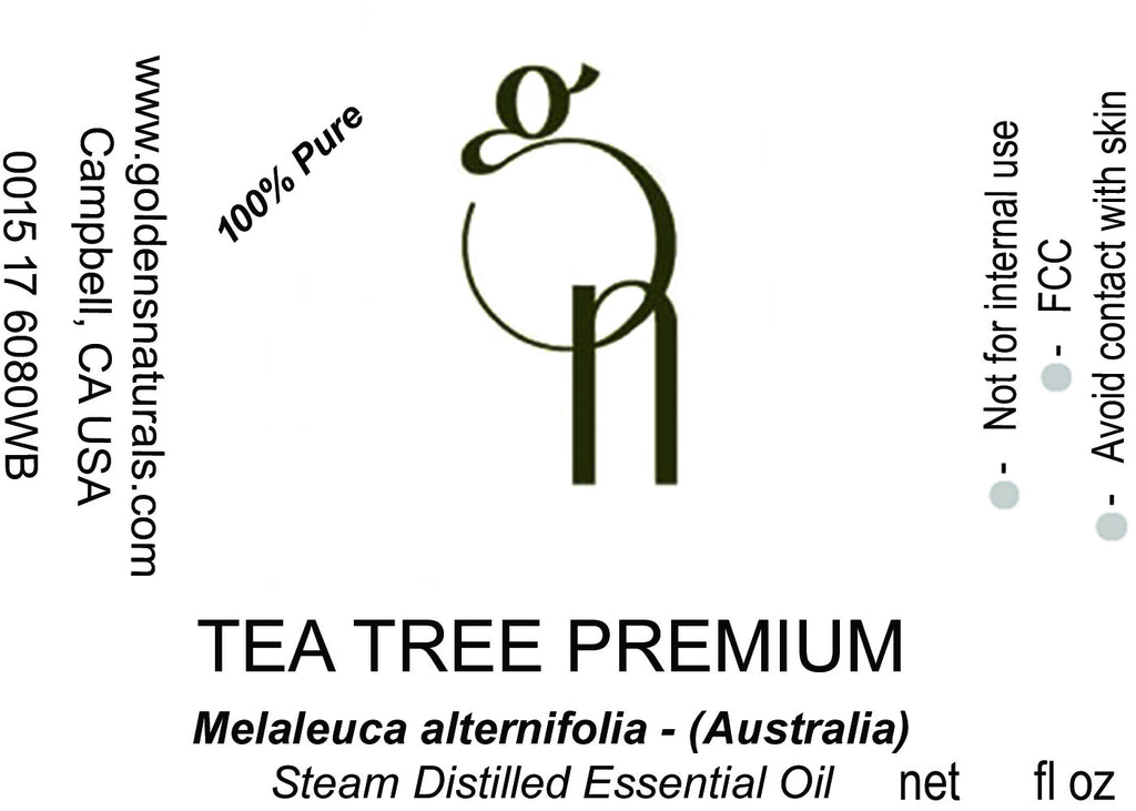 Tea Tree Essential Oil - Wholesale/Bulk **ORGANIC**, Essential Oils, Golden's Naturals - Golden's Naturals = quality essential oils at affordable prices