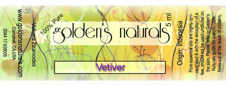 Vetiver Essential Oil, Essential Oils, Golden's Naturals - Golden's Naturals = quality essential oils at affordable prices