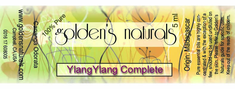 YlangYlang Complete Essential Oil **ORGANIC**, Essential Oils, Golden's Naturals - Golden's Naturals = quality essential oils at affordable prices