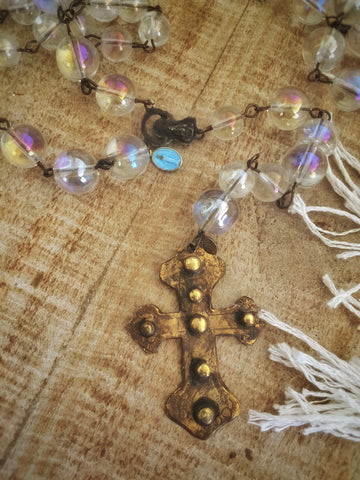 Saint Lazlo Rosary Necklace