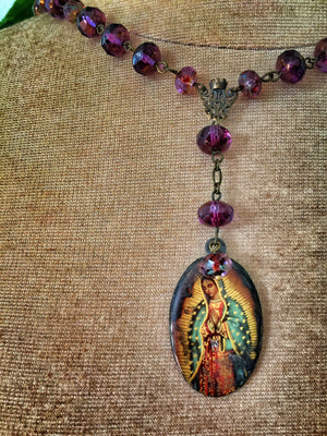 St. Devoro Blessed Mary Necklace