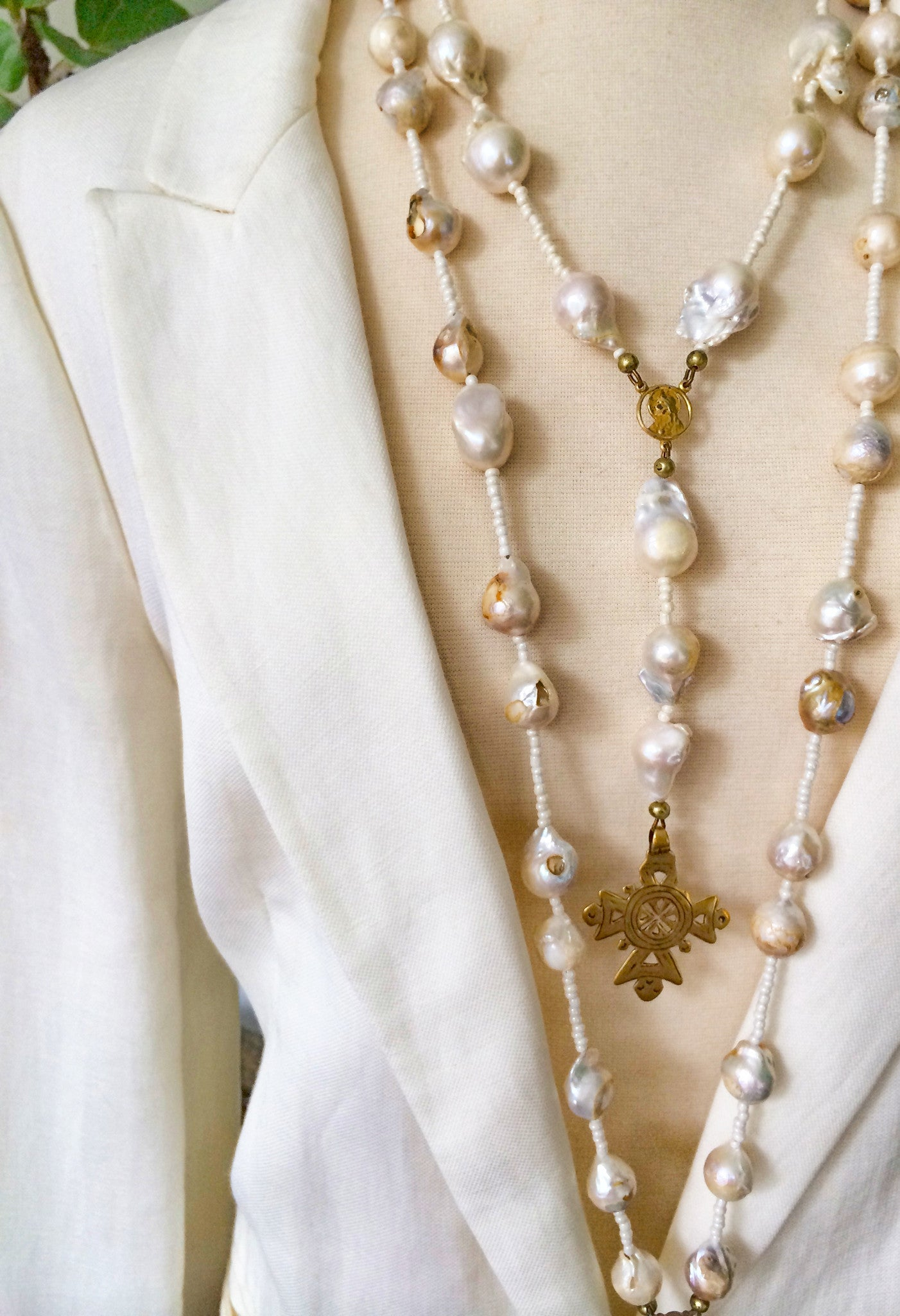 Chateau di Mare Pearl Necklace