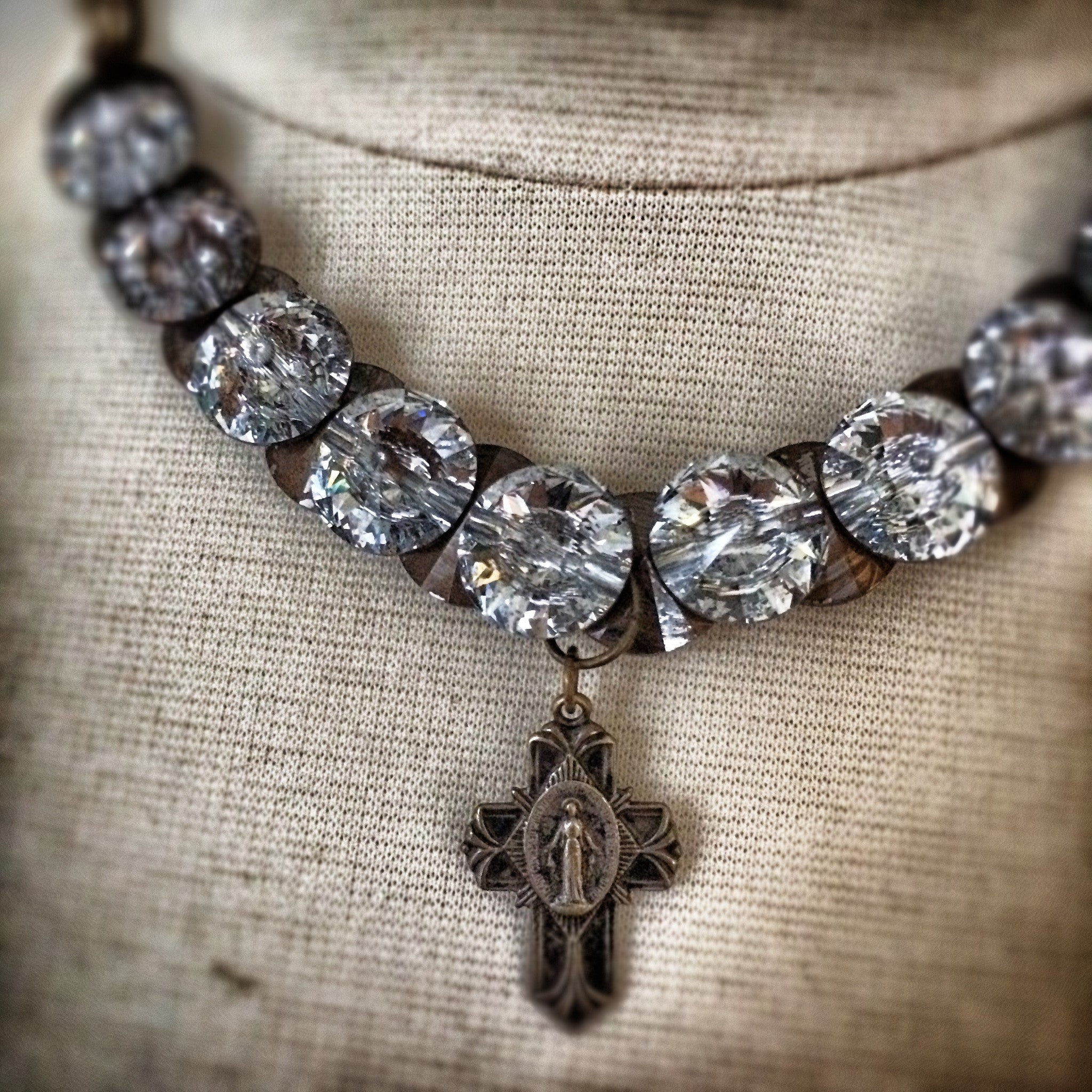 Saint Luce Crystal Necklace