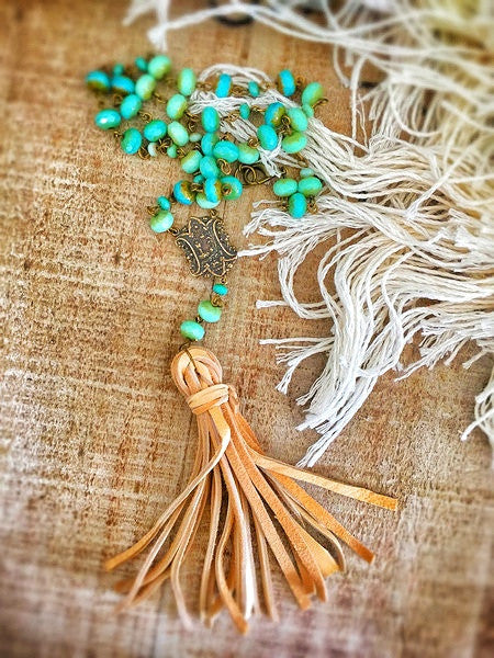 St. Bohemian Tassel Necklace