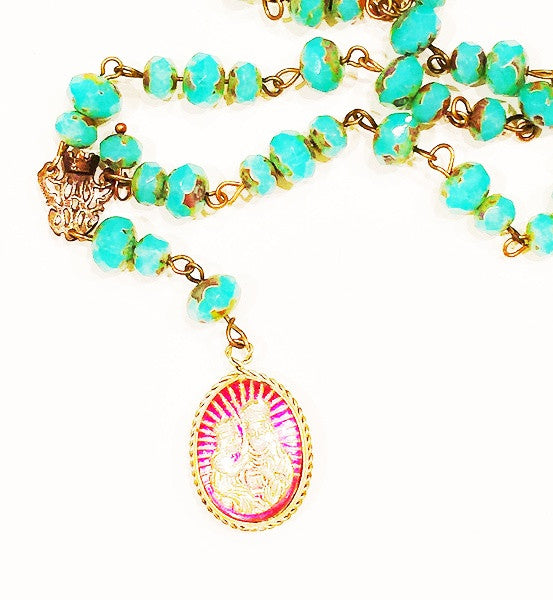 St. Juliana Cameo Necklace