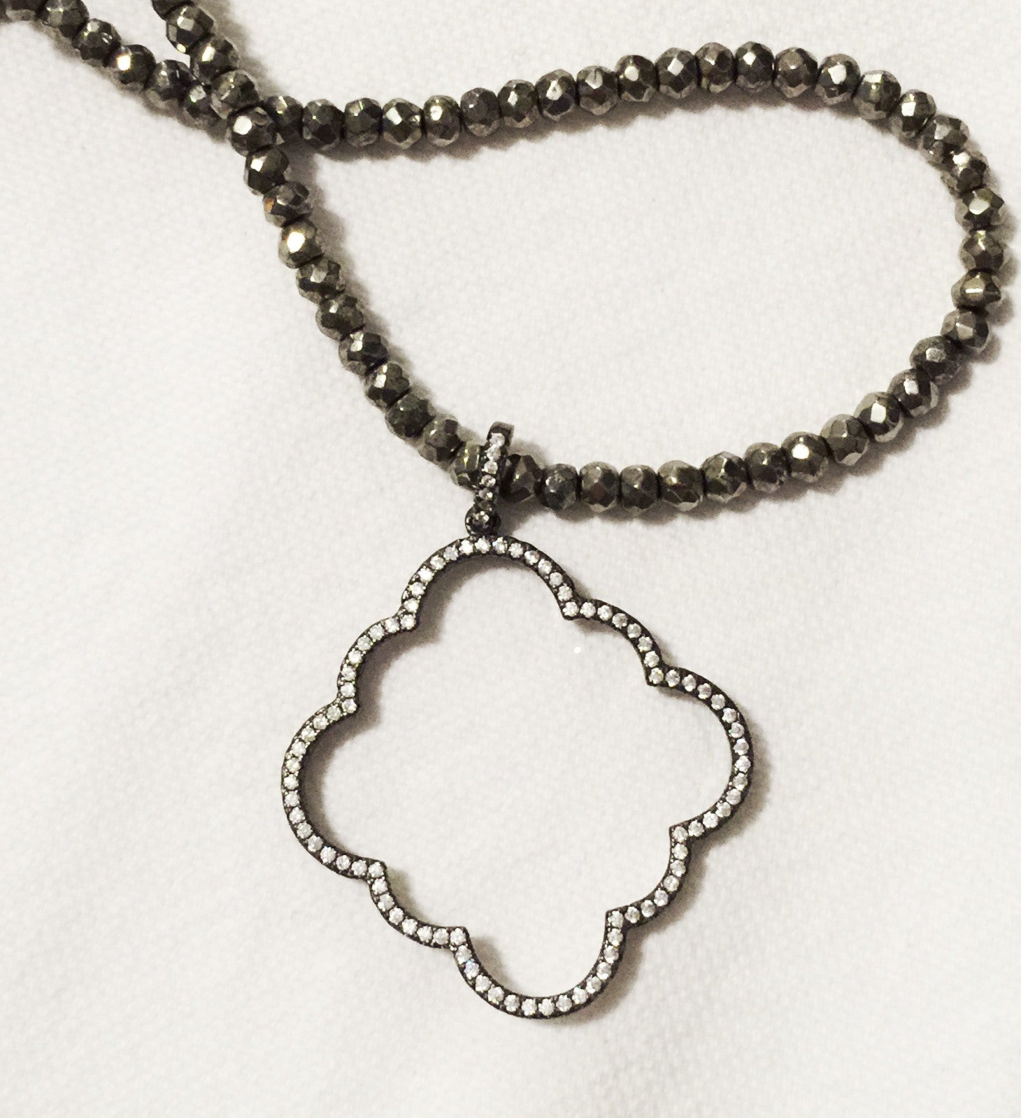St. Ariana Pave Necklace