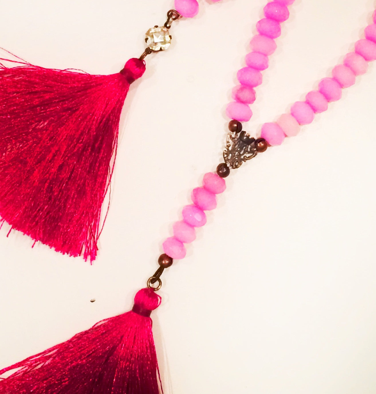 Piseas St. Eleya Tassel Necklace