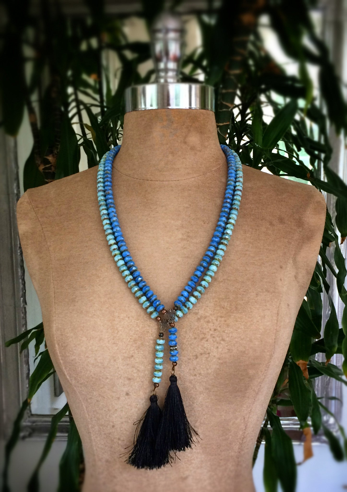 Piseas St. Calypso Tassel Necklace