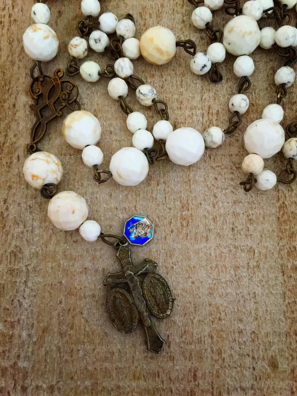 St. Cloud Long Rosary Necklace
