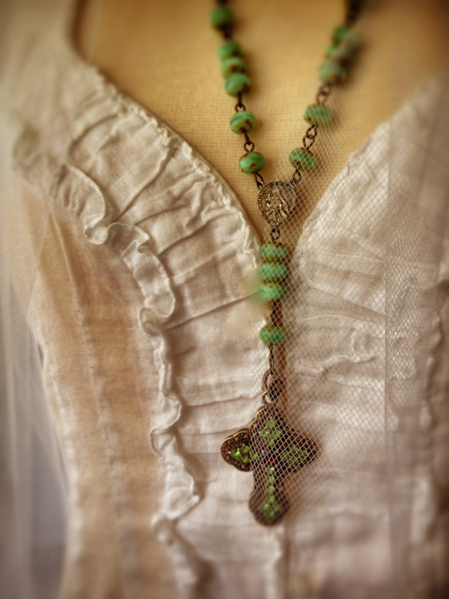 Trieste Rosary Necklace