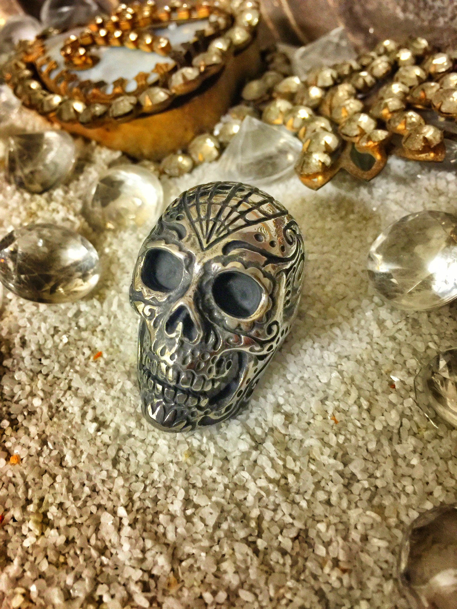 Saint Marc 'Voodoo Child' Massive Skull Ring