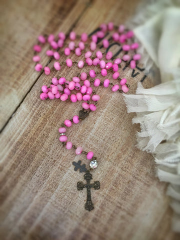 Saint Ciela Rosary Necklace