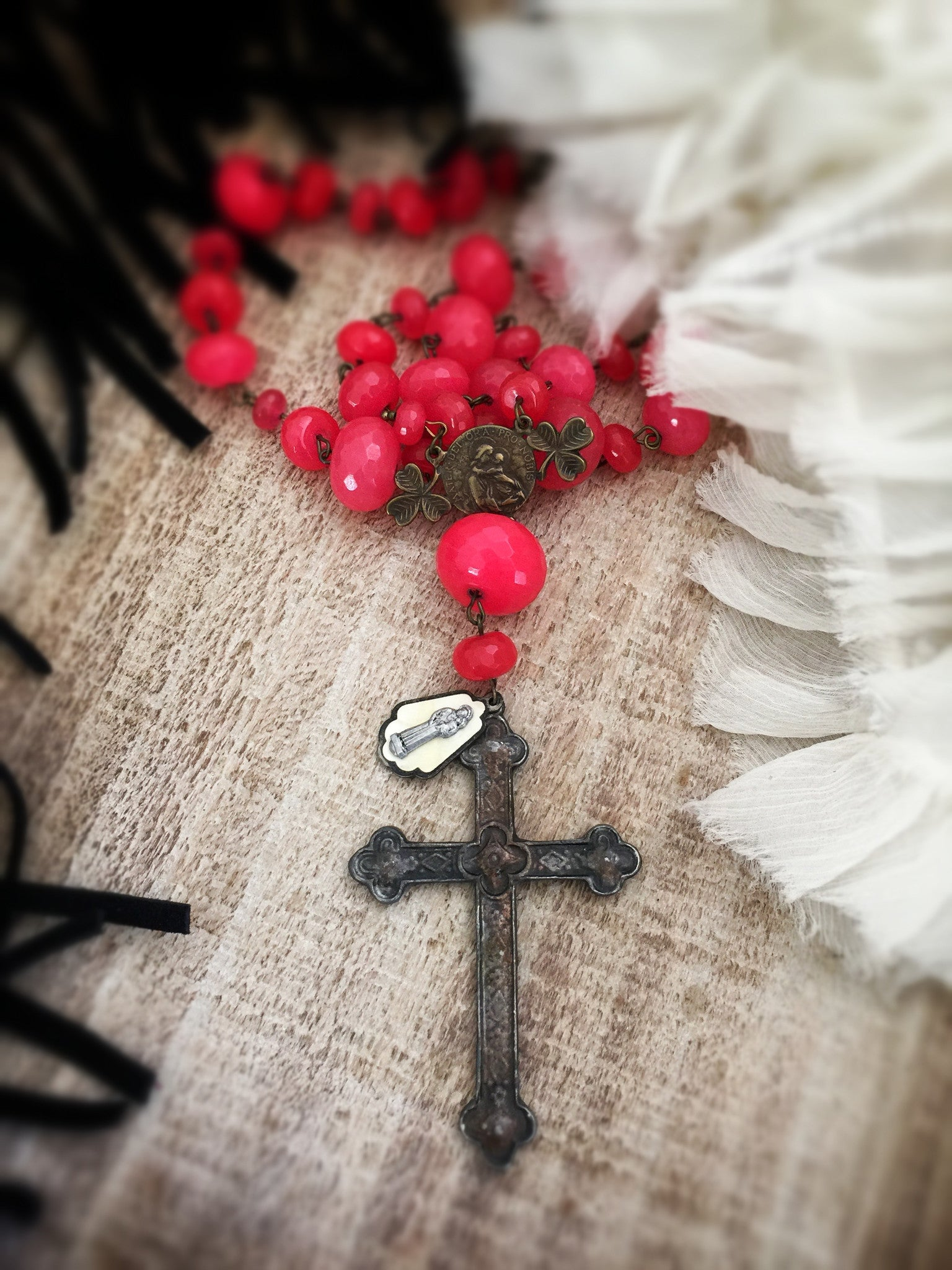 Saint Anna Rosary Necklace