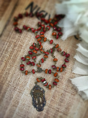 Saint Sienna Rosary Necklace