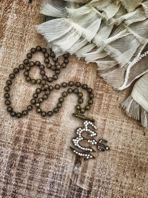 Saint Lucius Prayer Necklace