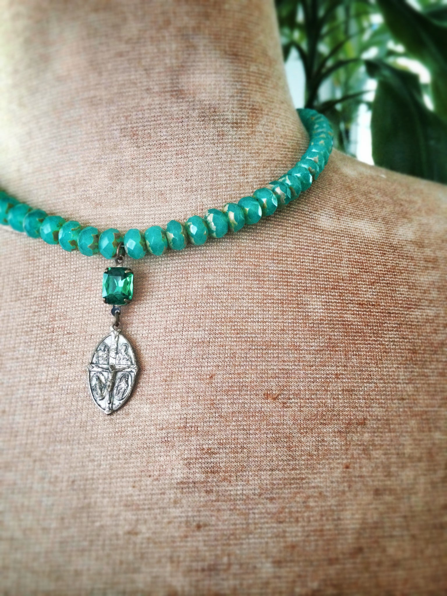 St. Cristoforo Emerald  Necklace