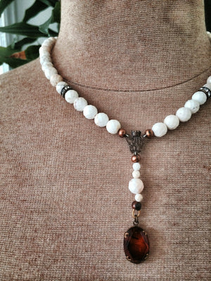 St. Issa Ivory Amber Necklace