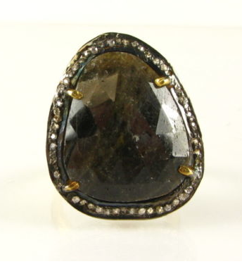 Rock Goddess Pave Smoke Ring
