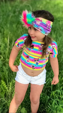 Surprise Doll Crop Top